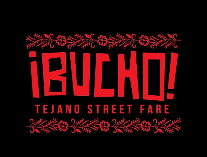 Artist Regina Morales' logo for the pop-up restaurant ¡Bucho! - COURTESY OF REGINA MORALES