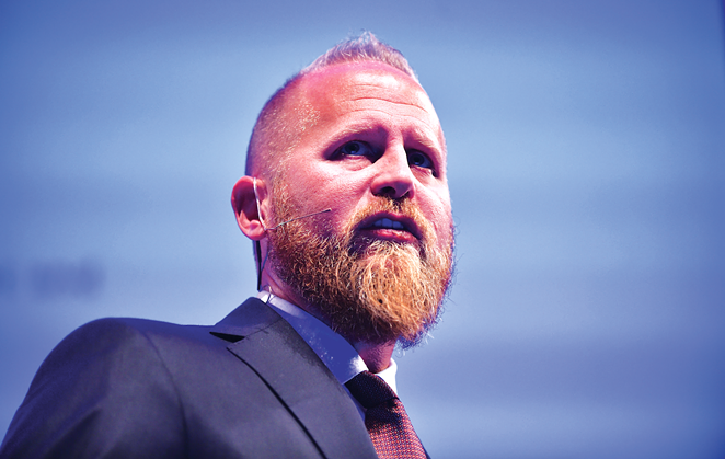 Trump campaign director Brad Parscale - PHOTO BY DAVID FITZGERALD-WEB SUMMIT VIA SPORTSFILE