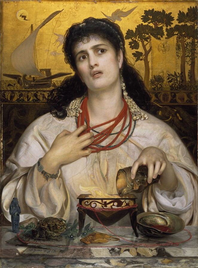 Medea, Frederick Sandys - COURTESY OF SAN ANTONIO MUSEUM OF ART