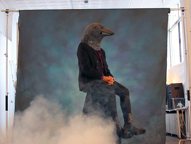 """Still from """"Crow Requiem"""" (2015) - COURTESY OF ARTPACE"""