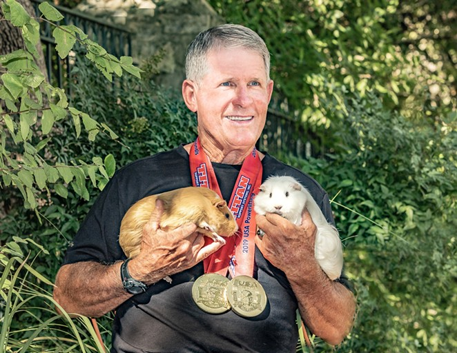 Mike Settles, 2018 World Benchpress Champion - NANCY NORMAN