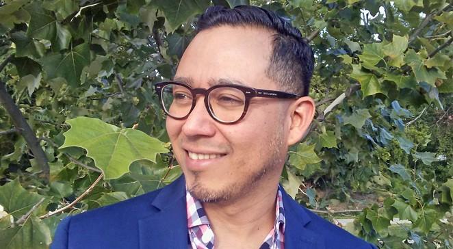 Octavio Quintanilla, current San Antonio Poet Laureate - JADE ESTEBAN ESTRADA