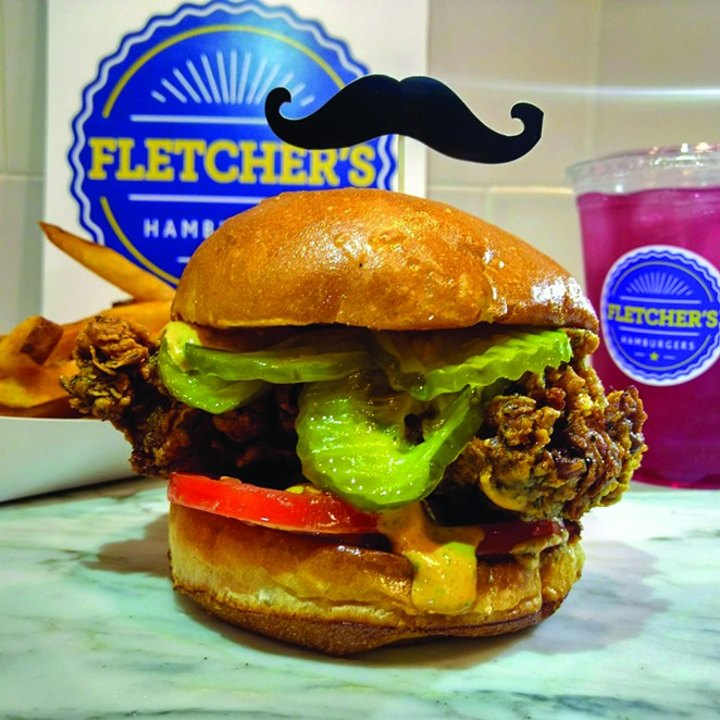 COURTESY OF FLETCHER'S HAMBURGERS