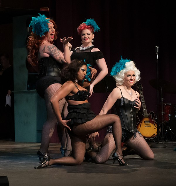 COURTESY OF STARS AND GARTERS BURLESQUE