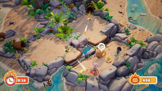A screenshot from Bake and Switch - STREAMLINE GAMES
