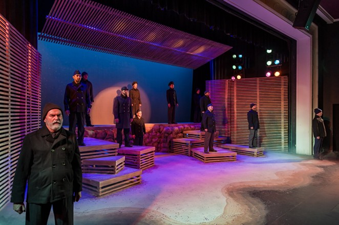 A photo of The Public Theater's 2018 production of All Is Calm - SIGGI RAGNAR