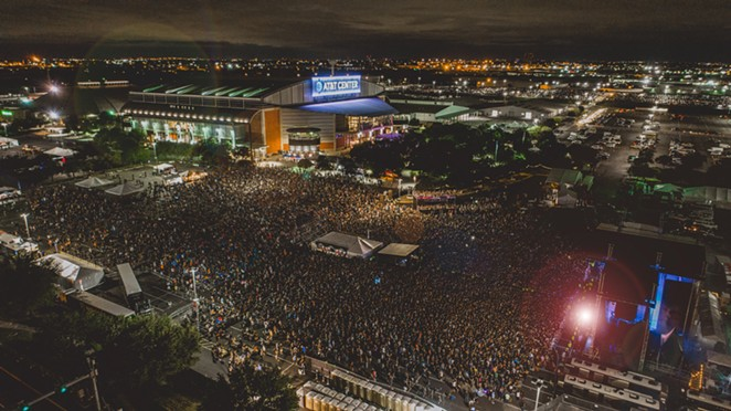 River City Rockfest drew 25,000 to 35,000 music fans annually. - COURTESY OF SPURS SPORTS & ENTERTAINMENT