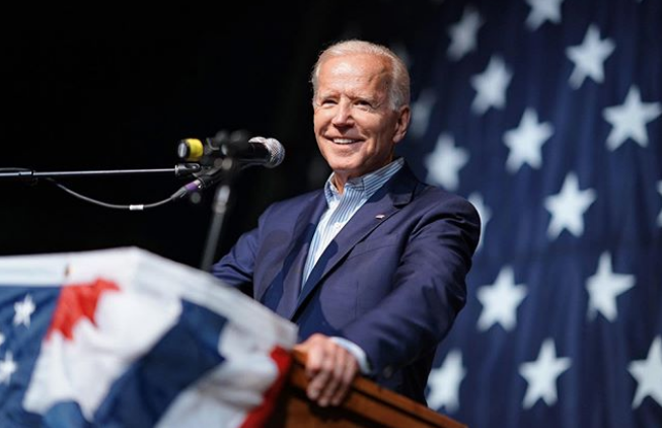 Former Vice President Joe Biden has won the Texas presidential primary. - INSTAGRAM / JOEBIDEN