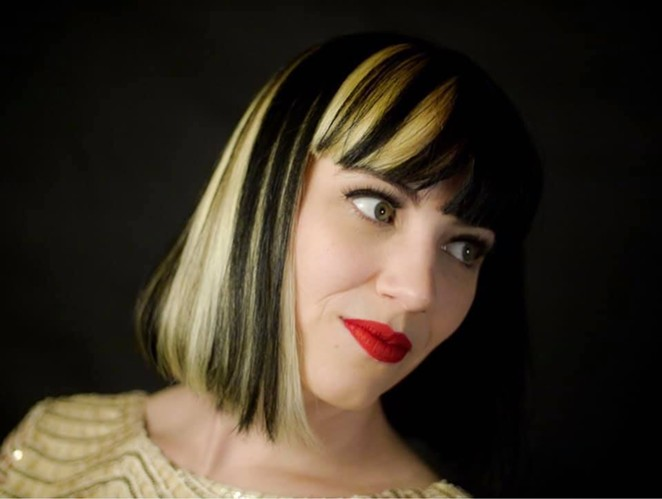 Emily Whitehurst of the synth-pop act Survival Guide says she's relying on Patreon to help with her bills. - FACEBOOK / EMILY WHITEHURST