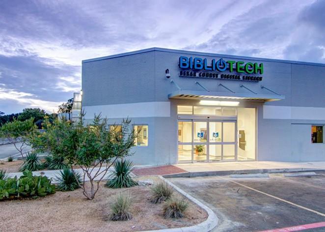 Bexar County has sought to improve internet access for San Antonio-area residents via its BiblioTech all-digital libraries. - FACEBOOK / BEXAR BIBLIOTECH