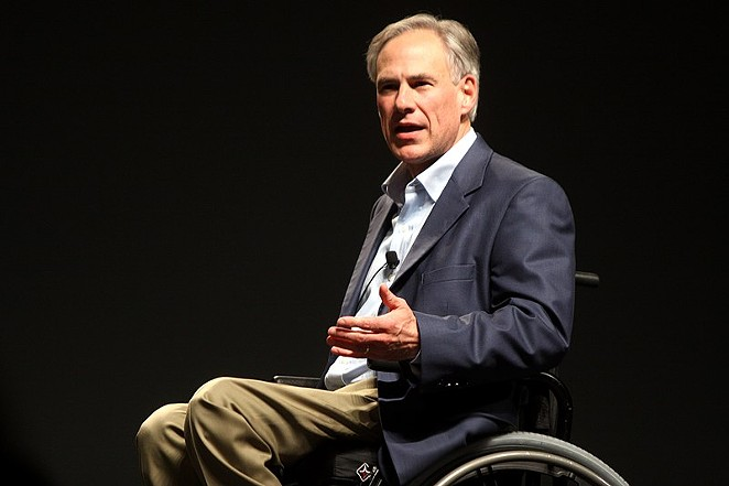 Texas Gov. Greg Abbott - WIKIMEDIA COMMONS / GAGE SKIDMORE
