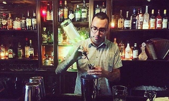 Squeezebox's Aaron Peña worries the state liquor taxes due April 20 will force many bars to close. - COURTESY PHOTO / SQUEEZEBOX