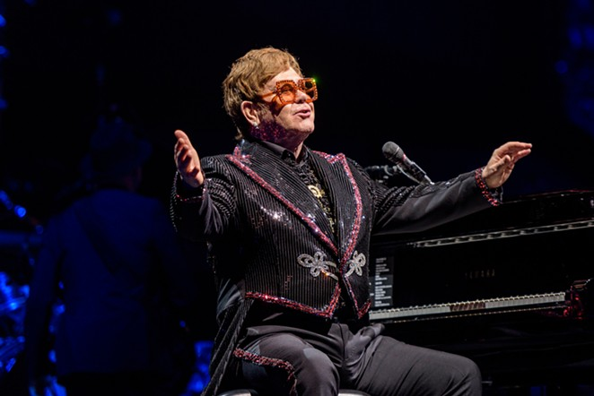 Elton John is one of the top concert draws forced to cancel or postpone tours because of the coronavirus pandemic. - JAIME MONZON