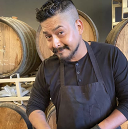 Chef Edward Villareal of Homegrown Chef has created 3 unique brunch plate options for the Sunday Funday Brunch event. - INSTAGRAM / DORCOLSPIRITS