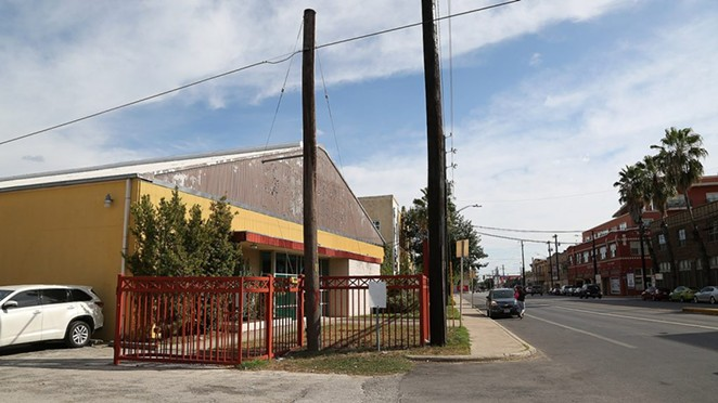 This property at 1334 S. Flores St. is part of a planned mixed-use development. - PHOTO BY BEN OLIVO / SAN ANTONIO HERON