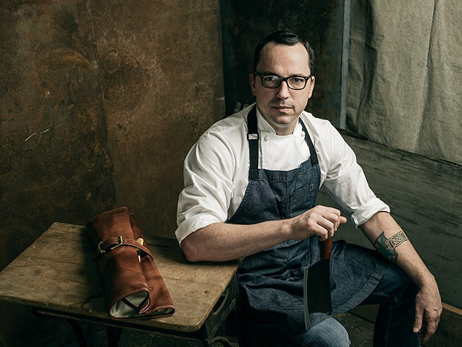 Steve McHugh is in the running for Best Chef for the fifth time since Cured at the Pearl opened in 2013. - JOSH HUSKIN