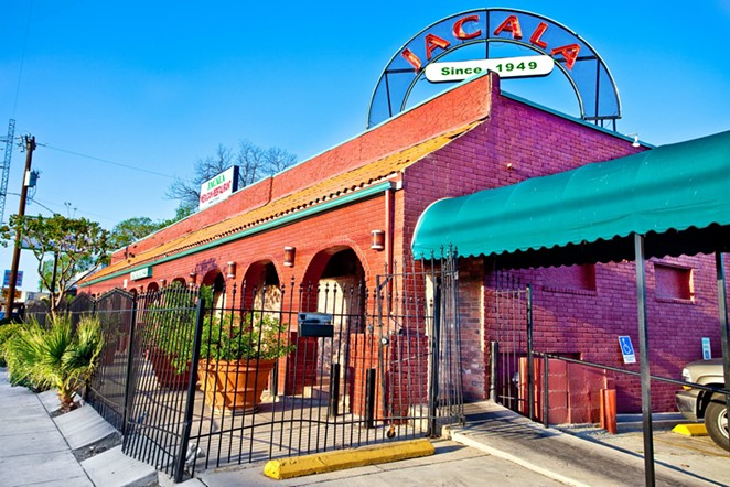 Jacala, in San Antonio's Los Angeles Heights neighborhood, originally opened in 1949. - FACEBOOK / JACALAMEXICANRESTAURANT
