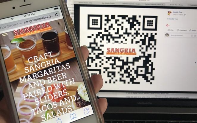 San Antonio restaurants are utilizing QR code tech to share their menus digitally. - NINA RANGEL