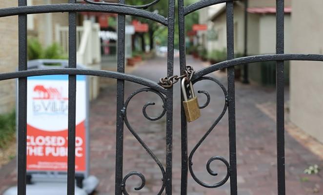 La Villita was closed on Memorial Day because of the Covid-19 pandemic. - SA HERON / BEN OLIVO