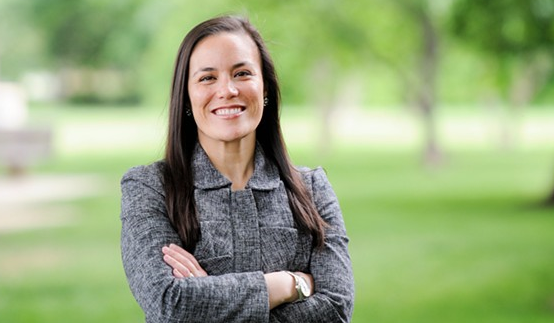After narrowly losing to Will Hurd in 2018, Gina Ortiz Jones is running to represent the same district in 2020. - COURTESY PHOTO / GINA ORTIZ JONES