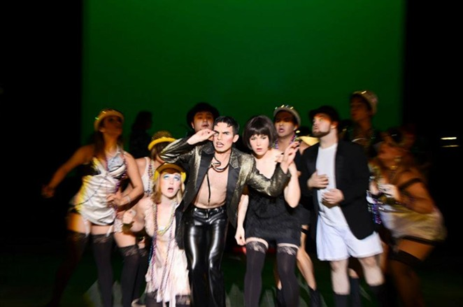 The company of Northwest Vista College's production of Cabaret, directed by Tim Hedgepeth - SIGGI RAGNAR