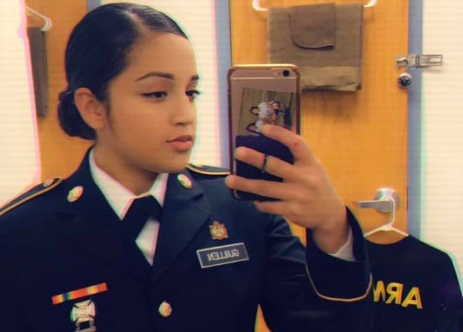 Twenty-year-old Private First Class Vanessa Guillen disappeared from Fort Hood on April 22. - FACEBOOK / FIND VANESSA GUILLEN