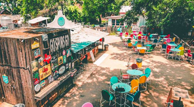Under the Texas Restaurant Association's proposed changes, The Friendly Spot would be allowed to reopen with the same precautions as restaurants. - INSTAGRAM / SKYLINEDRONETX