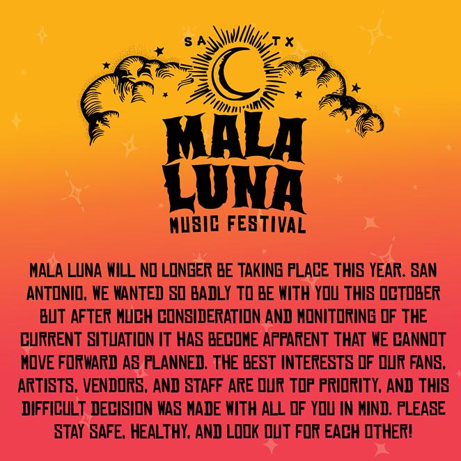 COURTESY OF MALA LUNA MUSIC FESTIVAL