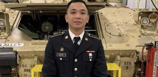 Private Mejhor Morta, 26, was found dead near a lake in the vicinity Fort Hood Tuesday. - INSTAGRAM / TRUECRIMEPOST