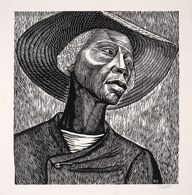 Elizabeth Cartlett's Sharecropper will be featured in August 12's Virtual Field Trip. - FACEBOOK / MCNAY ART MUSEUM