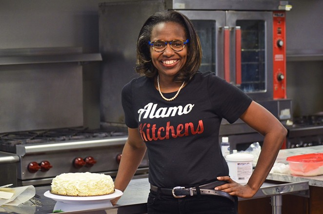 Tracie Shelton, owner of Alamo Kitchens, has been awarded an iFund Women of Color COVID Relief Grant. - COURTESY ALAMO KITCHENS