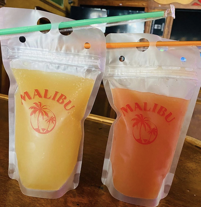 Calahan's Pub is offering $5 Rum Punch and Blue Hawaiian cocktails to-go. - INSTAGRAM / CALAHANSPIZZA
