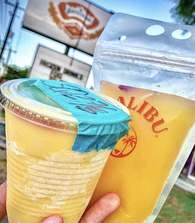 The Squeezebox is offering frozen Hurrricanes and Pimm's Cups Friday and Saturday night. - INSTAGRAM / THESQUEEZEBOX_SA
