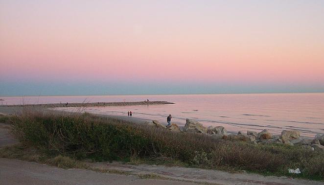 Galveston, shown here, is under a mandatory evacuation order by its mayor. - WIKIMEDIA COMMONS / OSCAR BOLEMAN