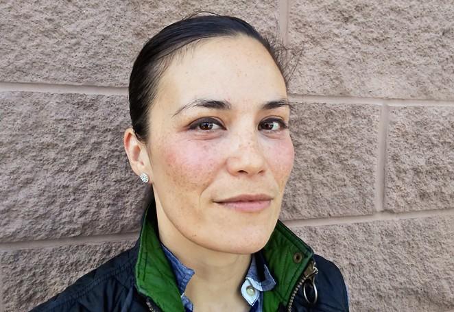 Gina Ortiz Jones, an Air Force veteran, is running to represent Texas' 23rd Congressional District. - JADE ESTEBAN ESTRADA