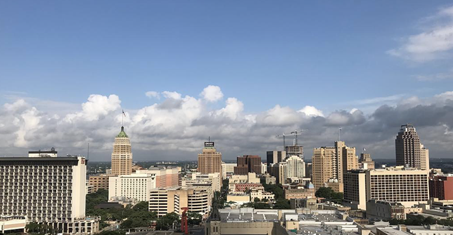 Views from the Plaza Club's previous location at the Frost Tower will be difficult to beat. - INSTAGRAM / SOCIALIZESANANTONIO