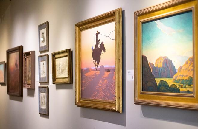 COURTESY OF BRISCOE WESTERN ART MUSEUM