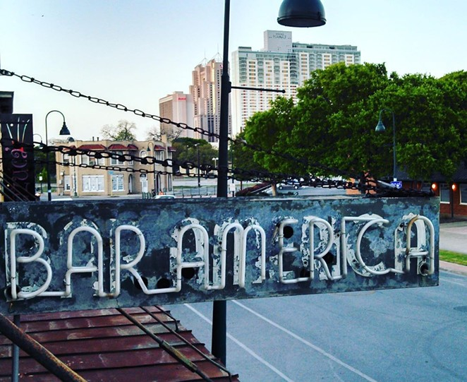 The new Amor Eterno will be located behind iconic Southtown nightspot Bar America. - INSTAGRAM / BAR AMERICA