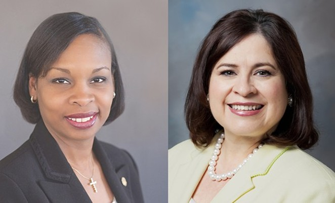 Ivy Taylor and Leticia Van de Putte will face off in the runoff election on June 13.