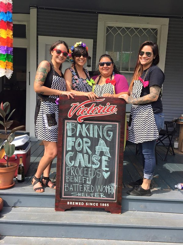 The women behind Baking For A Cause are helping San Anto Cultural Arts this time around. - BAKING FOR A CAUSE/FACEBOOK