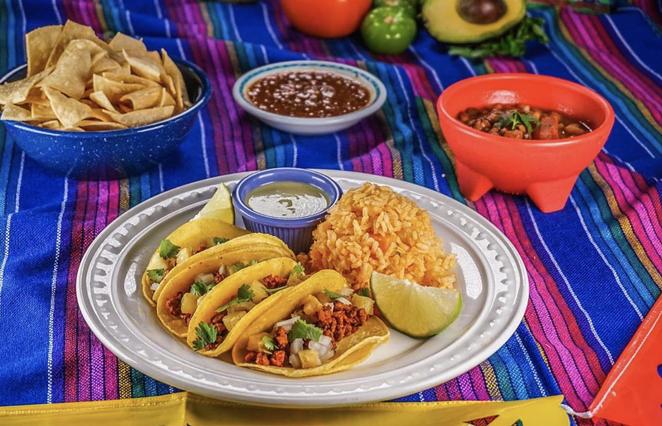 Viva Vegeria's Tacos Al Pastor - COURTESY OF VIVA VEGERIA