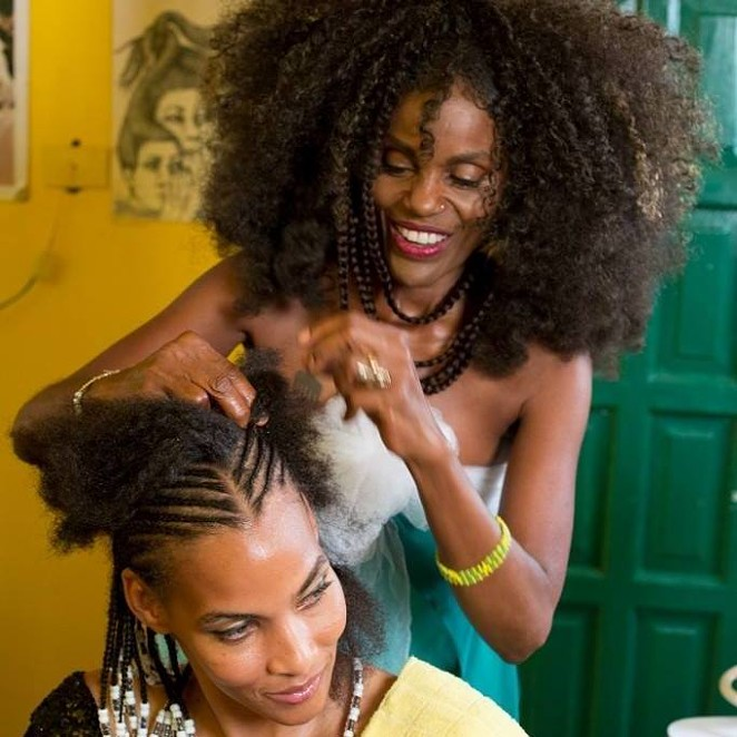 Isis Brantley (right) led efforts to change state law governing hair braiding businesses. - ISIS BRANTLY/FACEBOOK