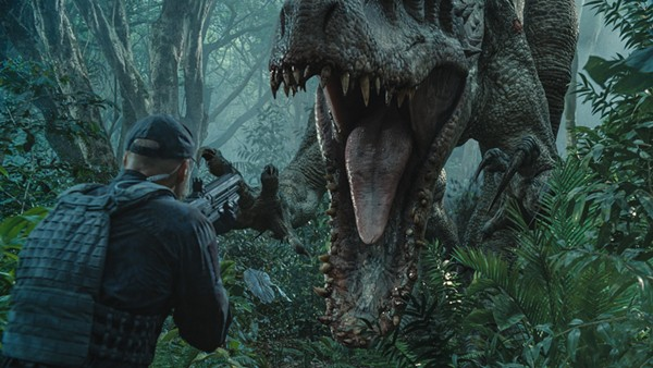 The world of Jurassic Park comes roaring back in theaters on Friday, June 12. - COURTESY