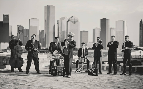 Houston's Los Skarnales headlines the second installment of the Current's Coors Light Free Concert Series on June 16. - COURTESY