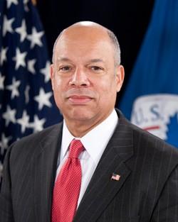 U.S. Department of Homeland Security Secretary Jeh Johnson. - U.S. DEPARTMENT OF HOMELAND SECURITY
