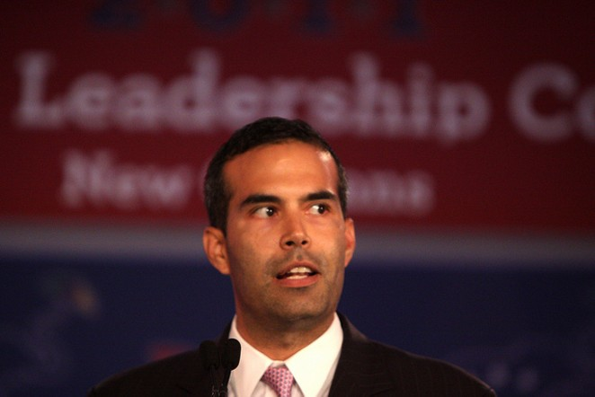 George P. Bush will back his dad in the 2016 race, but he's also all about Texas' junior senator. - BY FLICKR USER GAGE SKIDMORE