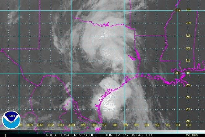 Tropical Depression Bill - NATIONAL HURRICANE CENTER