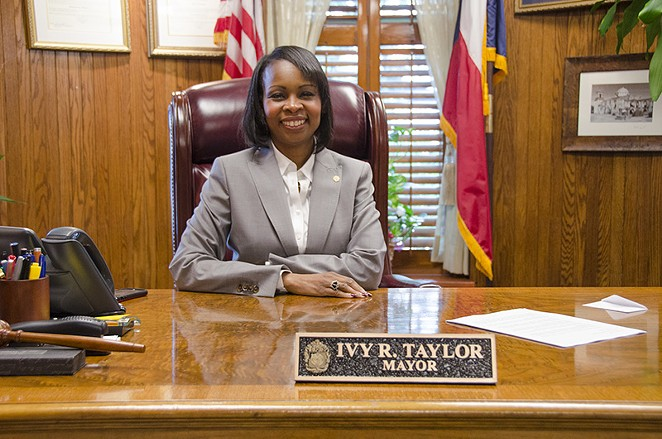Mayor Ivy Taylor looks forward to her first full term as San Antonio's top leader. - SARA LUNA ELLIS