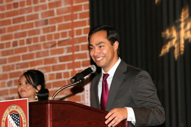 Rep. Joaquin Castro and seven other House Democrats toured the Karnes County Residential Center on Monday. - WIKIMEDIA COMMONS