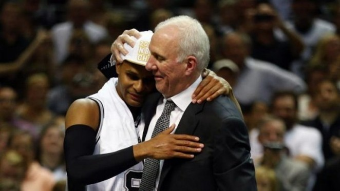 Pop reminding Patty that everything will be okay. - SYDNEY MORNING HERALD